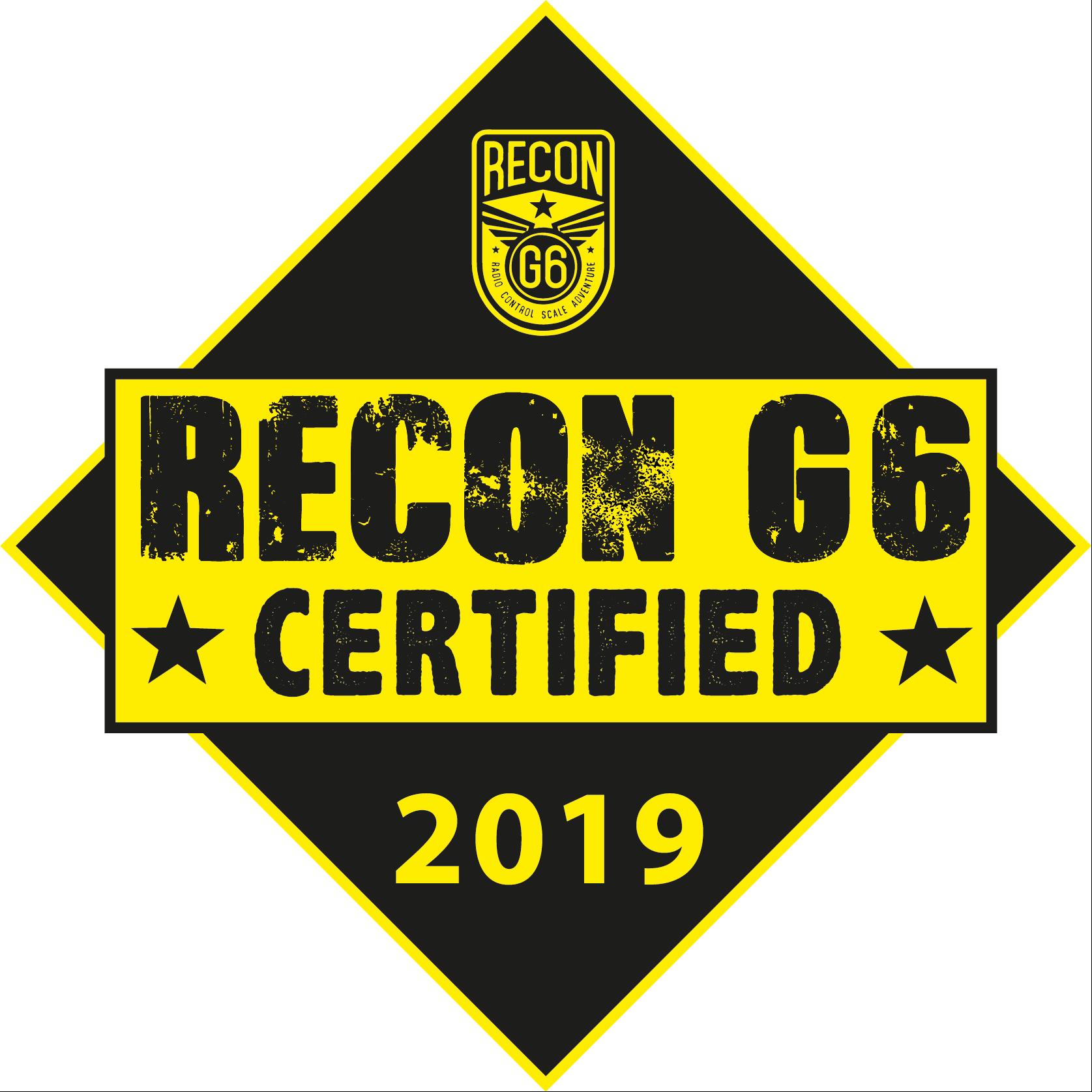 Recong G6 Certified 2019